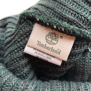 104fdebf3 TIMBERLAND mens slouchy beanie green & gray NWT NWT